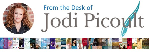 newsletter: From the Desk of Jodi Picoult