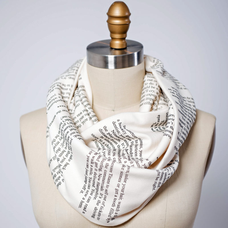 Nineteen Minutes book scarf