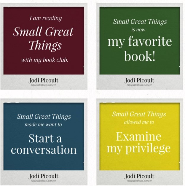 Small Great Things Quote: Jodi Picoult · Small Great Things